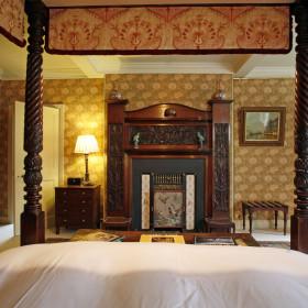 Retire to regal bedrooms