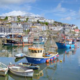 Enjoy a classic Cornish harbour
